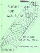 Gene Kranz's Flight Plan for MA-8