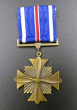 Scott Carpenter Flying Cross Medal