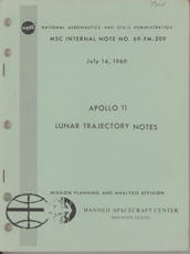 Apollo 11 Lunar Trajectory Notes